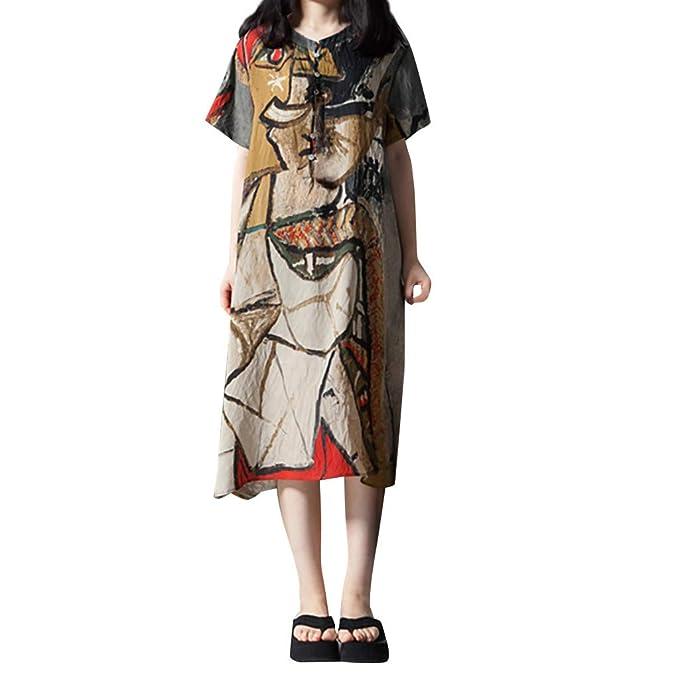 SHJIRsei Vestidos Mujer Verano, Vestidos para Mujer Verano ...