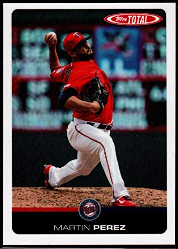 2019 Topps Total (Wave 1) Baseball #57 Martin Perez Minnesota Twins Official MLB Trading Card Limited to under 600 made RARE
