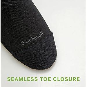 Sockwell Women's On The Spot Graduated Compression Socks, Black-Solid, Medium/Large