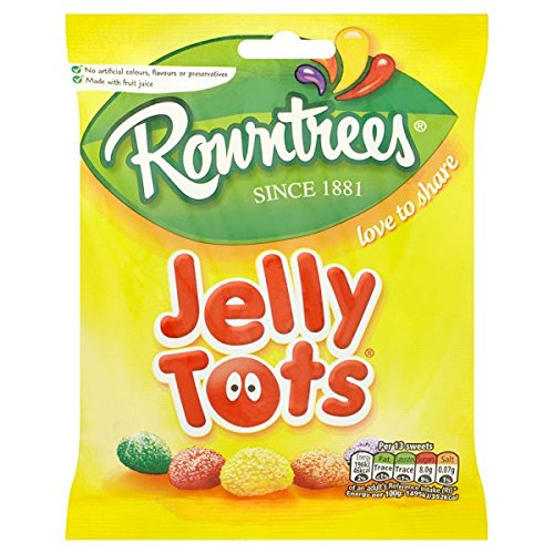 British Maynard's Jelly Tots - Case Of 12 x 160g Bags