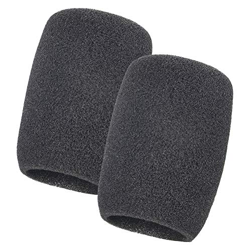 Shure BETA87A Microphone Foam Windscreen - Pop Filter for BETA87C, SM87A, SM86, SM85 Mic as Shure A85WS by YOUSHARES (2Packs) ()