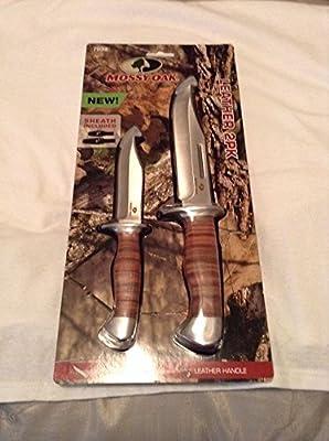 Mossy Oak 2-Piece Fixed Blade Hunting Knife