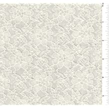 """60"""" Ivory Lace 15 Yards Wholesale By The Bolt"""