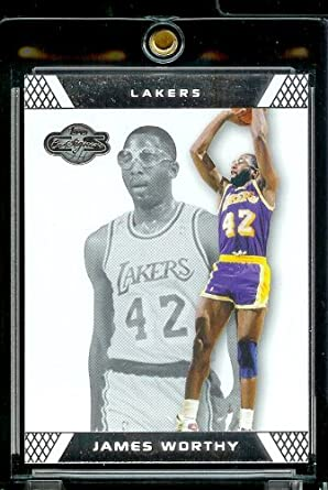 cc806e61d47 2007-08 Topps Co-Signers 46 James Worthy Los Angeles Lakers at ...