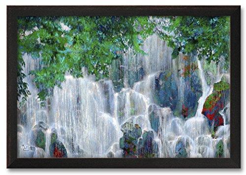 "Northwest Art Mall Ramona Falls (Oregon) Professionally Framed Wall Decor by Lisa Sofia Robinson. Print Size: 30"" x 45"" Framed Art Size: 34.5"" x 49.5"""