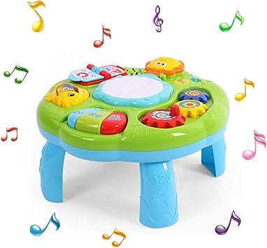Mesa musical de juguete para bebés, juguete educativo para bebés ...