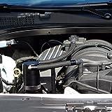 11-18 UPR 6.4L Billet Catch Can New HEMI Technology Z-Bracket Scat Pack Black