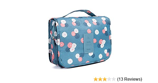 11e2b58cce6e Amazon.com   Nicedeal -Toiletry Bag Multifunction Cosmetic Bag Portable Makeup  Pouch Waterproof Travel Hanging Organizer Bag for Women Girls