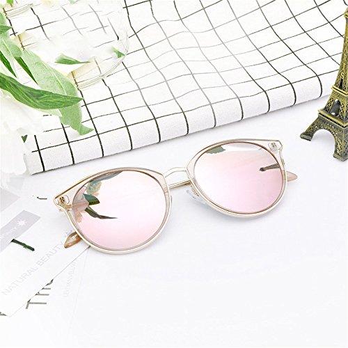 sol gafas Gafas adecuada sol Gafas para libre para aire luz y muje es polarizadas polarizadas para conducir montura de antivibratorias gafas de La de de con sol conducir antideslumbrante completa Pink al YHHxq4P