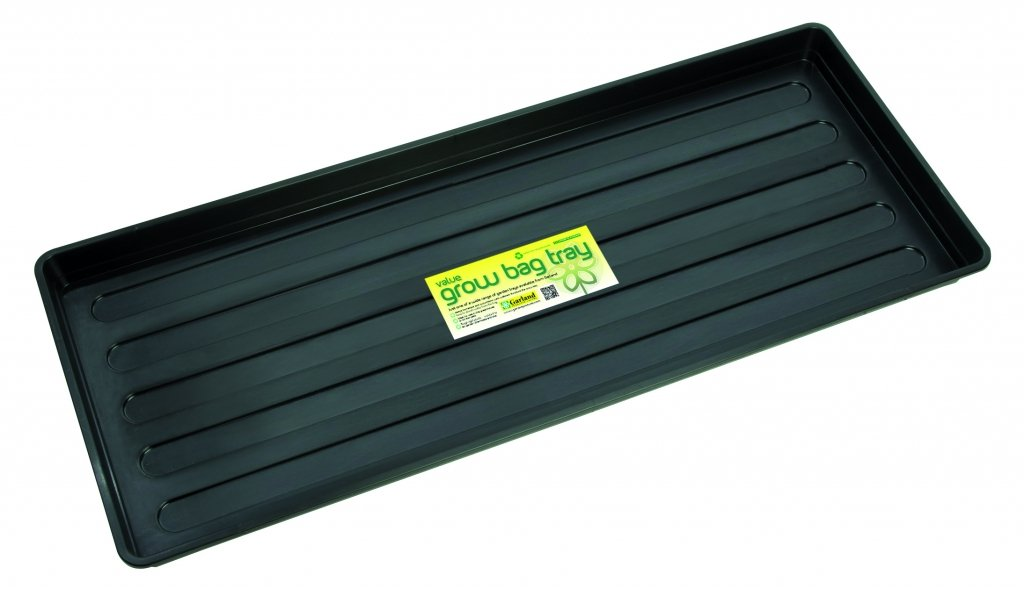( x4 ) Garland B182B Value Grow Bag Tray Black