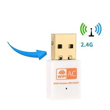 Adaptador WiFi USB, adaptador inalámbrico de tarjeta de red ...