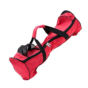 GDRAVEN 6.5 Hoverboard - Bolsa de Transporte para monopatín, Resistente al Agua, con Dos Ruedas, portátil, para Adultos, Color Negro, Rojo: Amazon.es: ...