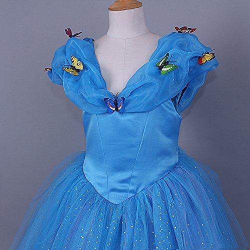 jerrisapparel new cinderella dress princess costume butterfly girl