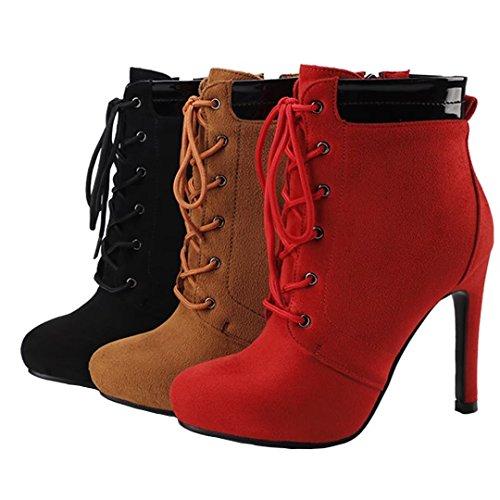 AIYOUMEI Boot Boot Classic AIYOUMEI Brown Classic Women's Women's Brown CSnxwRO