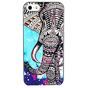 ZCLElephant Pattern Hard Case for iPhone 5/5S