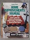 Home Improvements Manual, Reader's Digest Editors, 0895771322