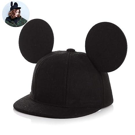 Beito Orecchio Adorabile Bambini Mouse Cappello 3D Cappello di Lana  Protezione dei Capretti per i Ragazzi b81182fa2220