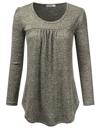 Pleated Blouse Shirt - 3