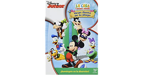 Amazon.com: PELICULA LA CASA DE MICKEY: GRAN FIESTA EN LA PLA: Movies & TV