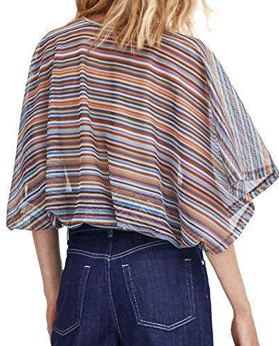302 Haut 0219 Femme Lacet Zara qBx4nC