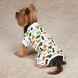 Dino Dog Pajamas Size: XX-Small (8″ H x 7.5″ W x 0.25″ D)