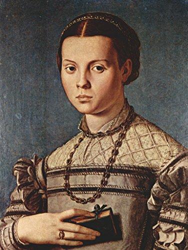 Lais Jigsaw Angelo Bronzino - Portrait of a Girl with Book 1000 (Bronzino Portrait)