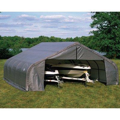 ShelterLogic 30 x 28 x 16 ft. Peak Frame Garage Shelter