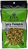Cheap Eden Organic Dry Roasted Seeds, Spicy Pumpkin, 4-Ounce Resealable Bags (Pack of 15)