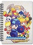 Great Eastern Entertainment Megaman Powered Up- Key Art Notebook