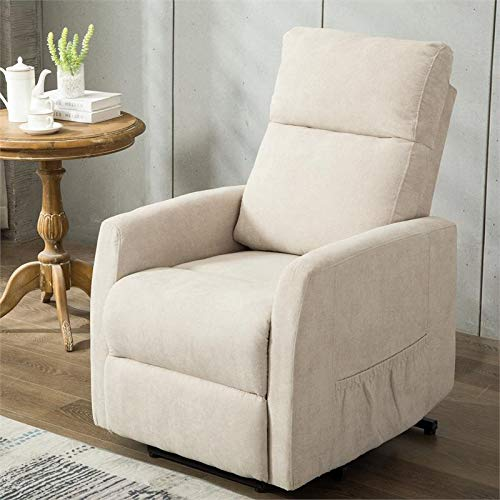 Comfort Pointe Juno Stone Fabric Lift Chair