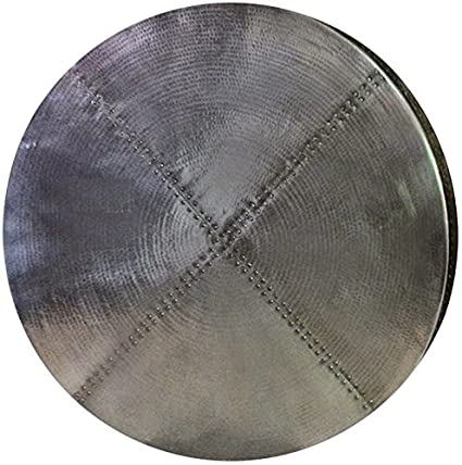 Round Zinc Table Top (smooth, 36u0026quot;)