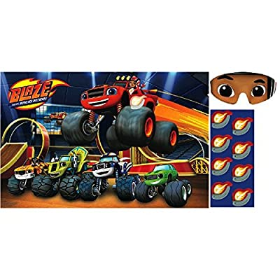 Blaze and the Monster Machines Party Game, Party Favor: Toys & Games