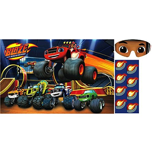 Blaze and the Monster Machines Party Game, Party Favor