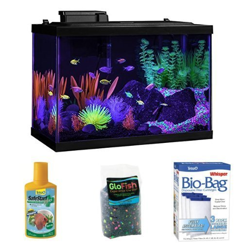 Tetra Aquarium Deluxe Bundle by GloFish