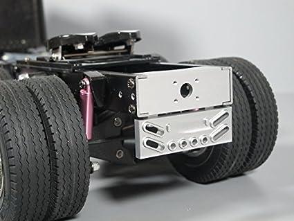 Amazon com: Aluminum Rear Tail Bumper Guard Beam for Tamiya