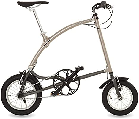 Ossby Curve Bicicleta Plegable, Unisex Adulto, Beige metálico ...