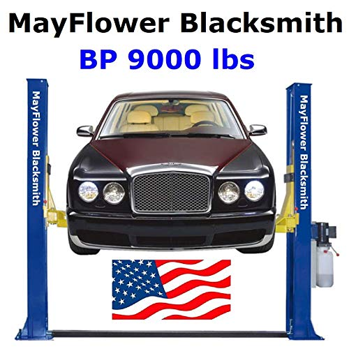 Mayflower Blacksmith Base Plate Two Post Lift car Lift 9000 lbs BP9000 ()