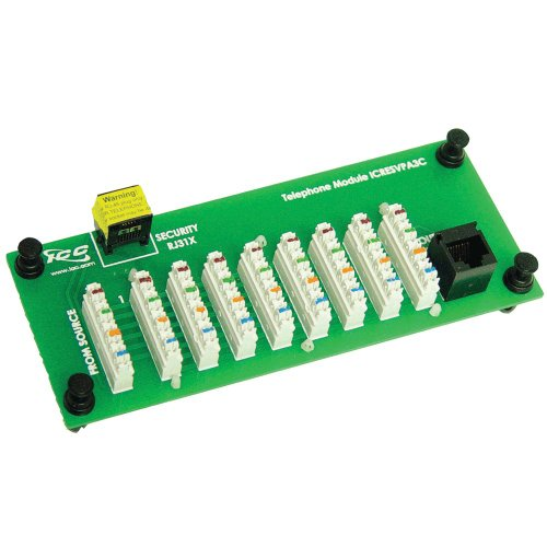 ICC Compact 8 Port Telephone Module W/RJ31