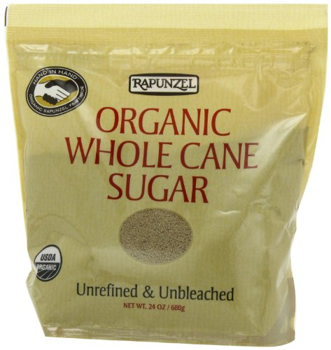 Cane Sugar Whole (Rapunzel Pure Organic Whole Cane Sugar, 24-Ounce Packages (Pack of 6))