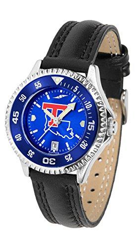 Sport Watch Bulldogs Louisiana Tech (Louisiana Tech Bulldogs Competitor AnoChrome Women's Watch - Color Bezel)