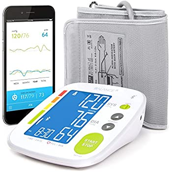 Amazon.com: [All New 2019] Blood Pressure Monitor by LAZLE ...