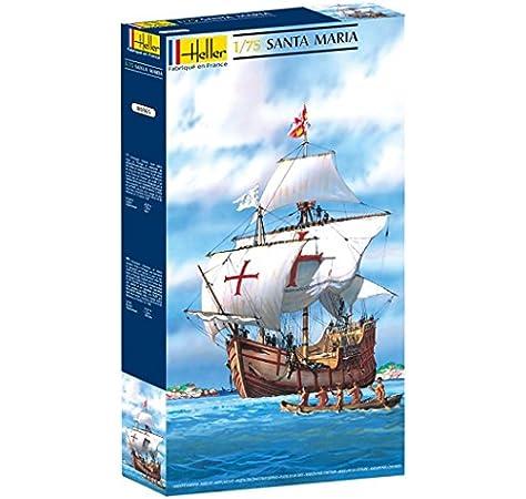 Glow2B Heller - 80865 - Maqueta para Construir - Santa Maria - 1/75: Amazon.es: Juguetes y juegos