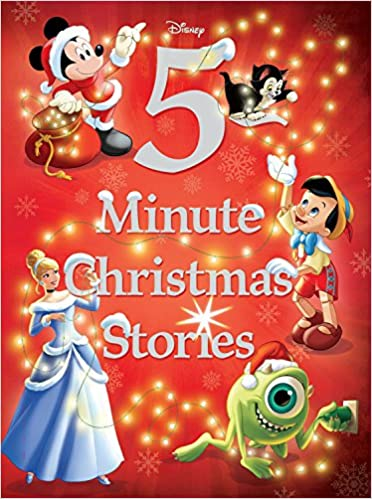 disney 5 minute christmas stories 5 minute stories disney book group disney storybook art team 9781484727416 amazoncom books