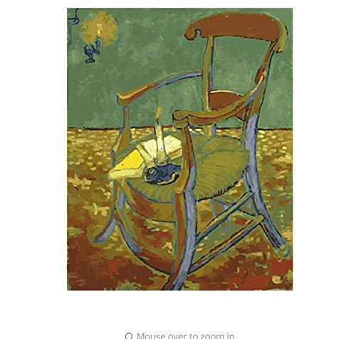 LIWEIXKY Leinwand Malerei by Zahlen DIY Bild Ölgemälde Auf Leinwand Für Wohnkultur Für Wohnzimmer - Mit Rahmen - 40x50cm B07PT8DGC6 | Guter weltweiter Ruf