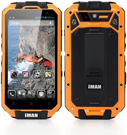 iMAN i3-N Quad Core Rugged Smartphone - IP68 Waterproof Rating ...