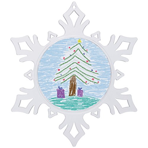 - Make Your Own Acrylic Craft Photo Snowflake Ornaments - 12 Pack