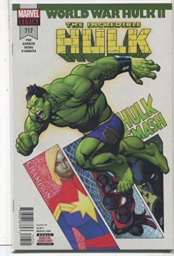 The Incredible Hulk #717 NM Legacy World War Hulk ll Marvel Comics CBX38