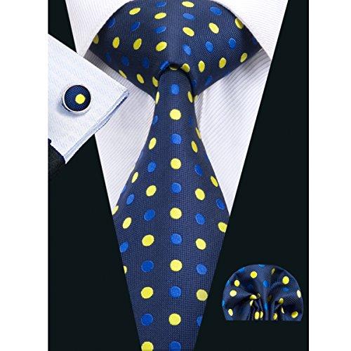 hi-tie-mens-stylish-polka-dots-silk-tie-hanky-cufflinks-set-blue
