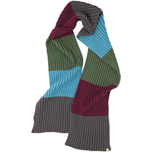 Life is Good Women's Striped Scarf, Slate Gray, One Size