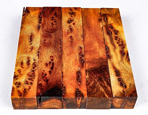 Camphor Burl Pen Blanks, Exotic Wood Turning Blocks PB9375
